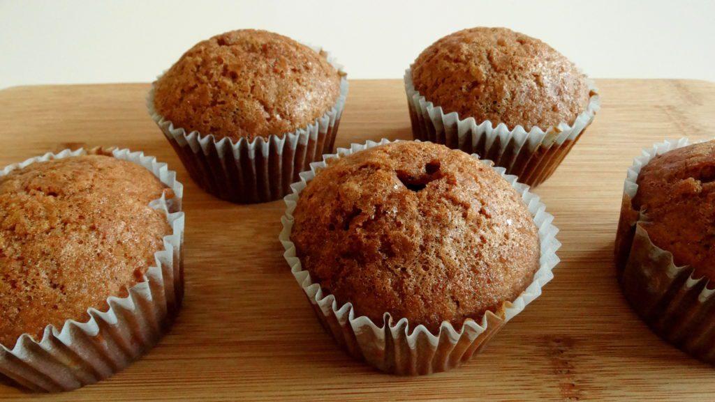 Korzenne muffinki bezglutenowe
