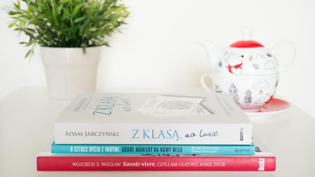 Książki o savoir-vivrze