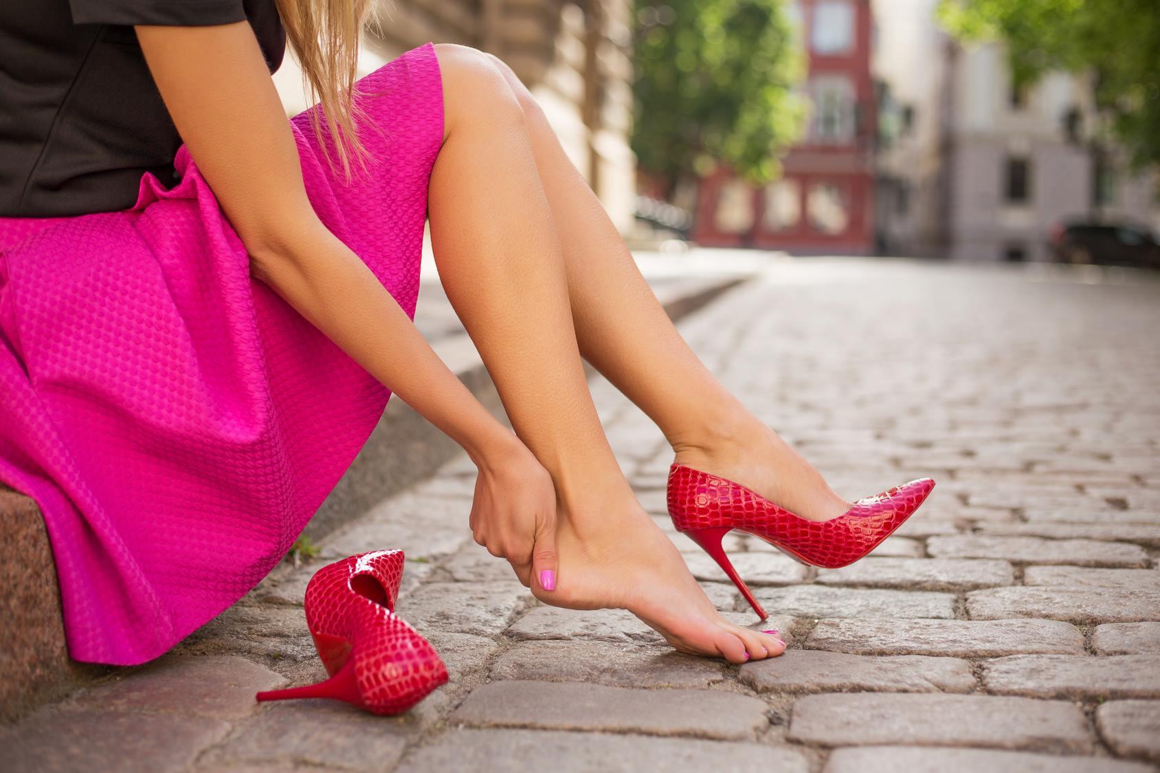 Za duże buty - sposób na ocierające buty