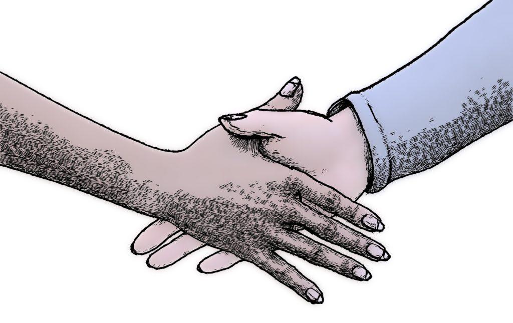 kto pierwszy podaje rękę dobre maniery